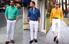 Hạ nhiệt mùa nóng với một chiếc quần trắng
