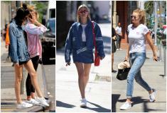 """Mặc đẹp với giày tennis trắng – Món đồ """"kinh điển"""" của giới thời trang"""