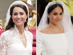 Công chúa Beatrice diện lại váy và vương miện của Nữ hoàng Elizabeth II trong hôn lễ