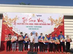 Khai mạc Hội chợ bán hàng trợ giá cho công nhân lao động dệt may Khu vực phía Nam